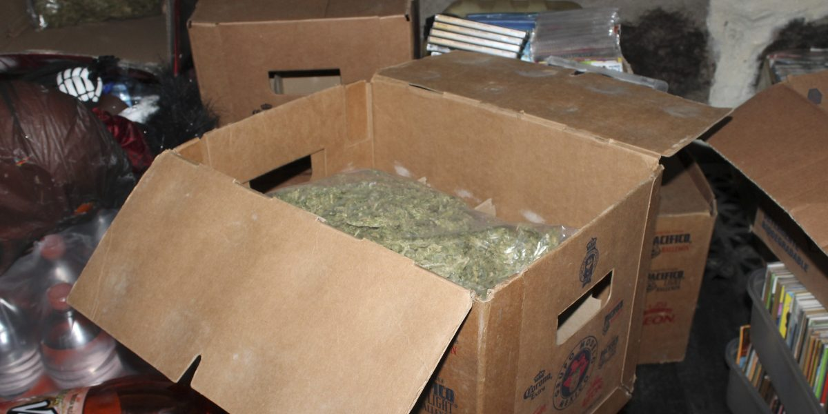 Aseguran 2.6 toneldas de marihuana escondida en cajas de aromatizante