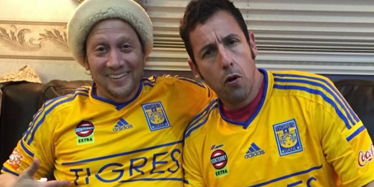 VIDEO: Rob Schneider y Adam Sandler festejaron el pase de Tigres a la Final