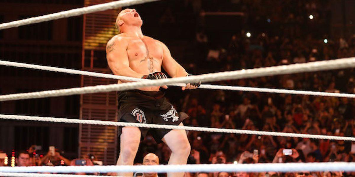 Brock Lesnar enloquece a la Ciudad de México con fácil triunfo ante Rusev