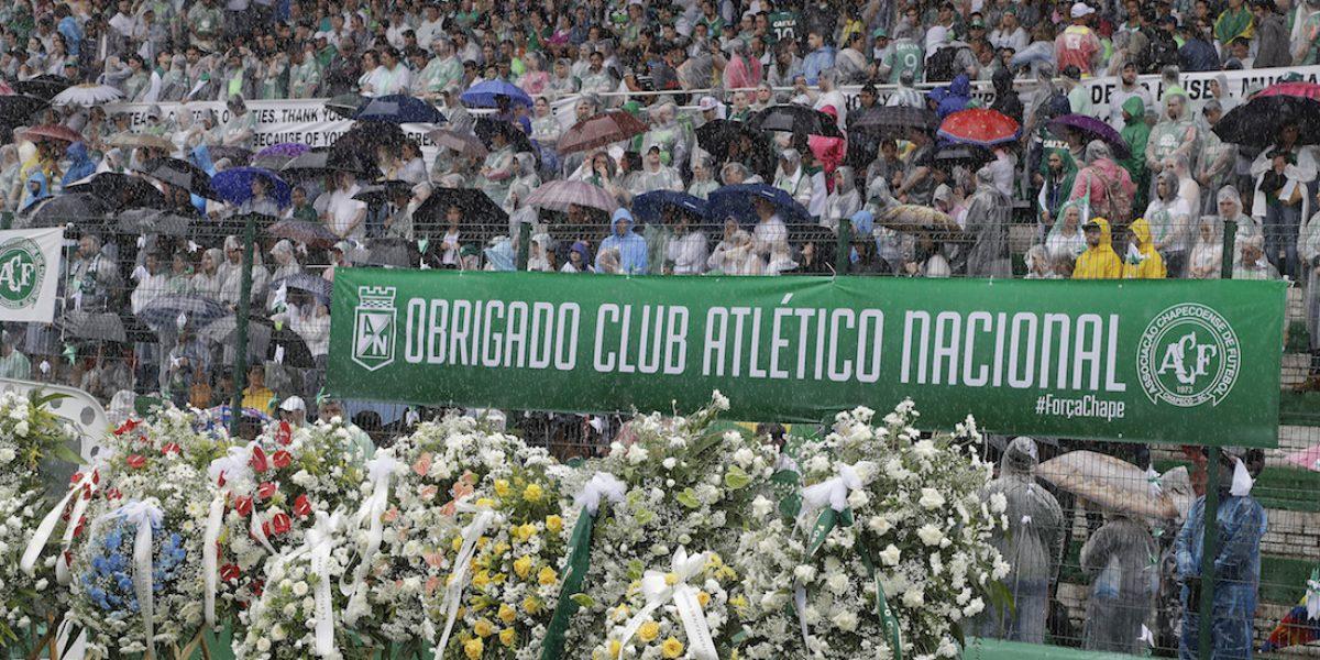 Anuncian título de la Sudamericana para Chapecoense