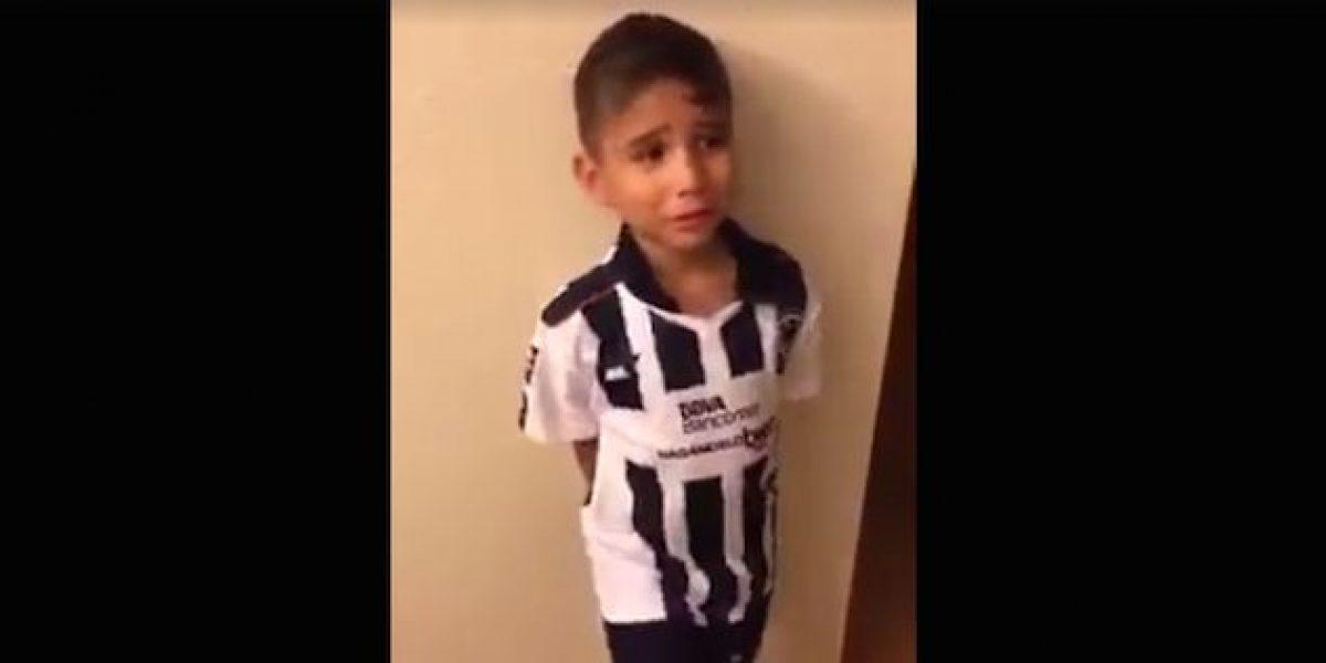 """VIDEO: Niño deja de irle a Rayados y ahora le va Tigres """"porque siempre ganan"""""""