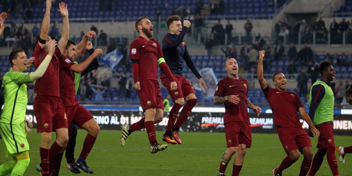 La Roma se impone sobre la Lazio en el derbi de la capital italiana