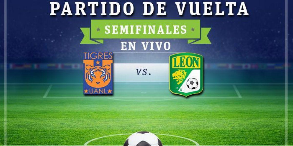 EN VIVO: Tigres vs León juego de vuelta de las semifinales del Apertura 2016