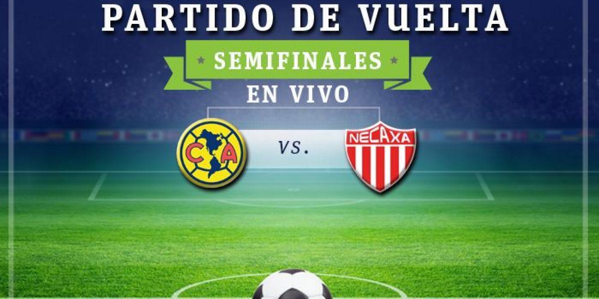 EN VIVO: América vs Necaxa, partido de vuelta de las semifinales del Apertura 2016