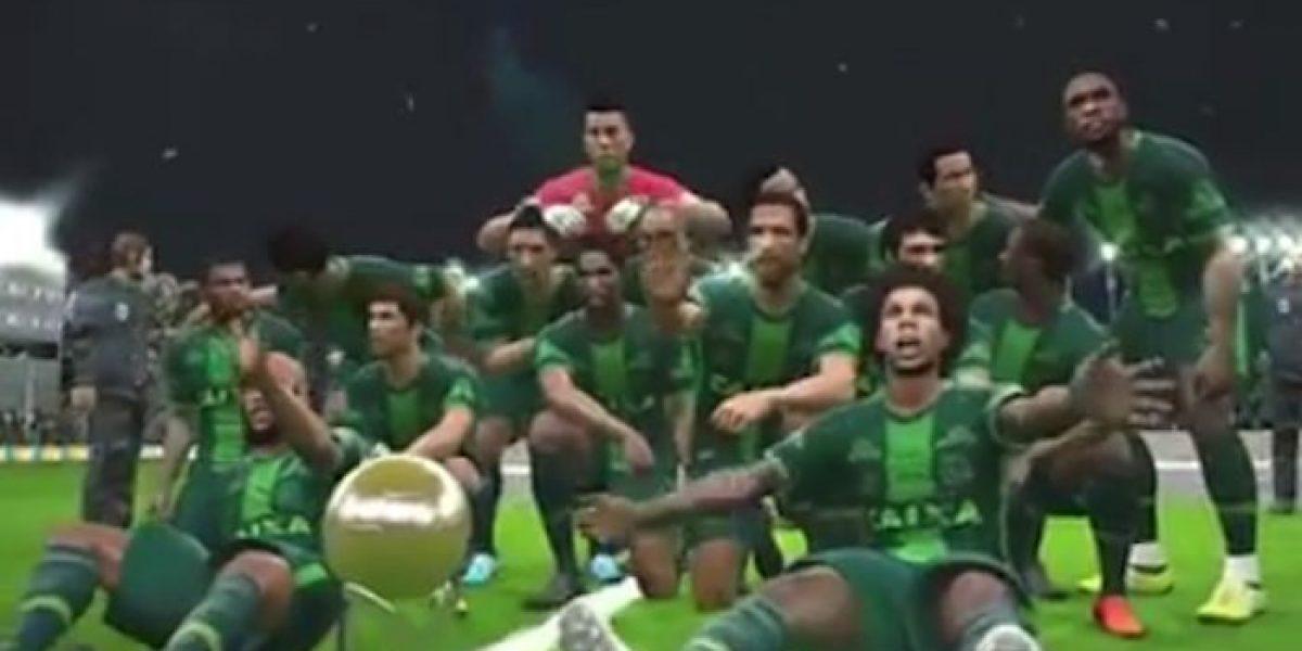 VIDEO: Simulan en videojuego la final de la Sudamericana entre Atlético Nacional y Chapecoense