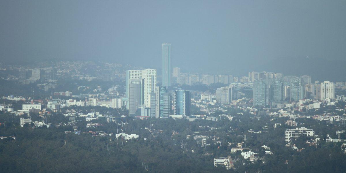 Zona conurbada del Valle de México con mala calidad del aire