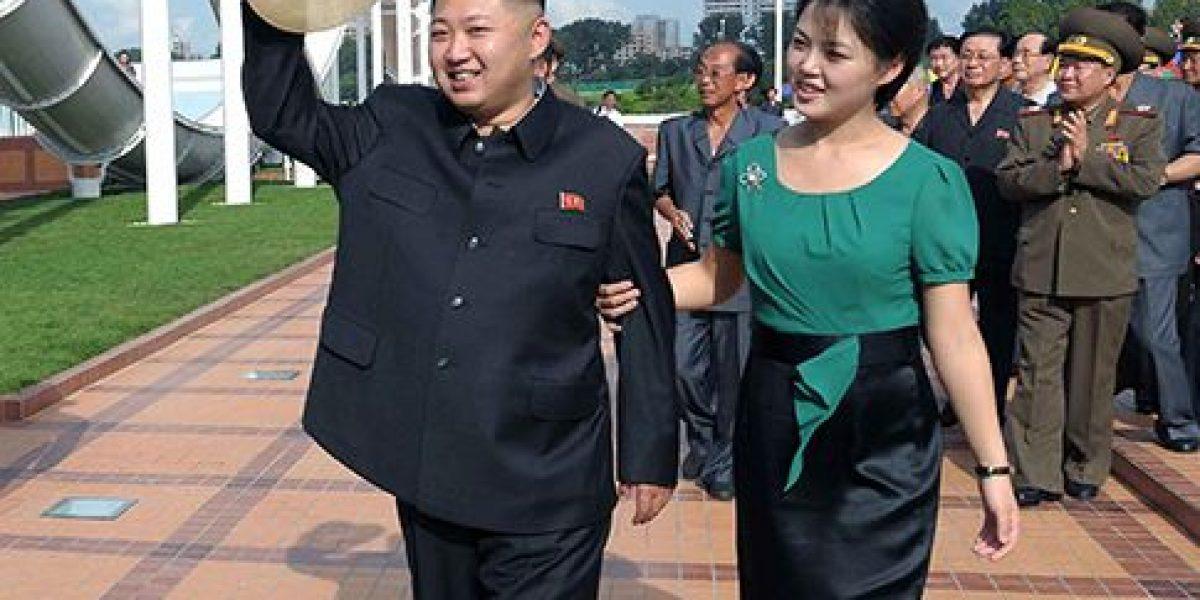 Esposa de Kim Jong-un reaparece tras nueve meses de ausencia pública