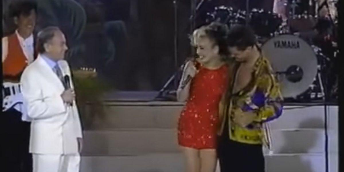 Video en el que Luis Miguel rechaza a Thalía se vuelve viral