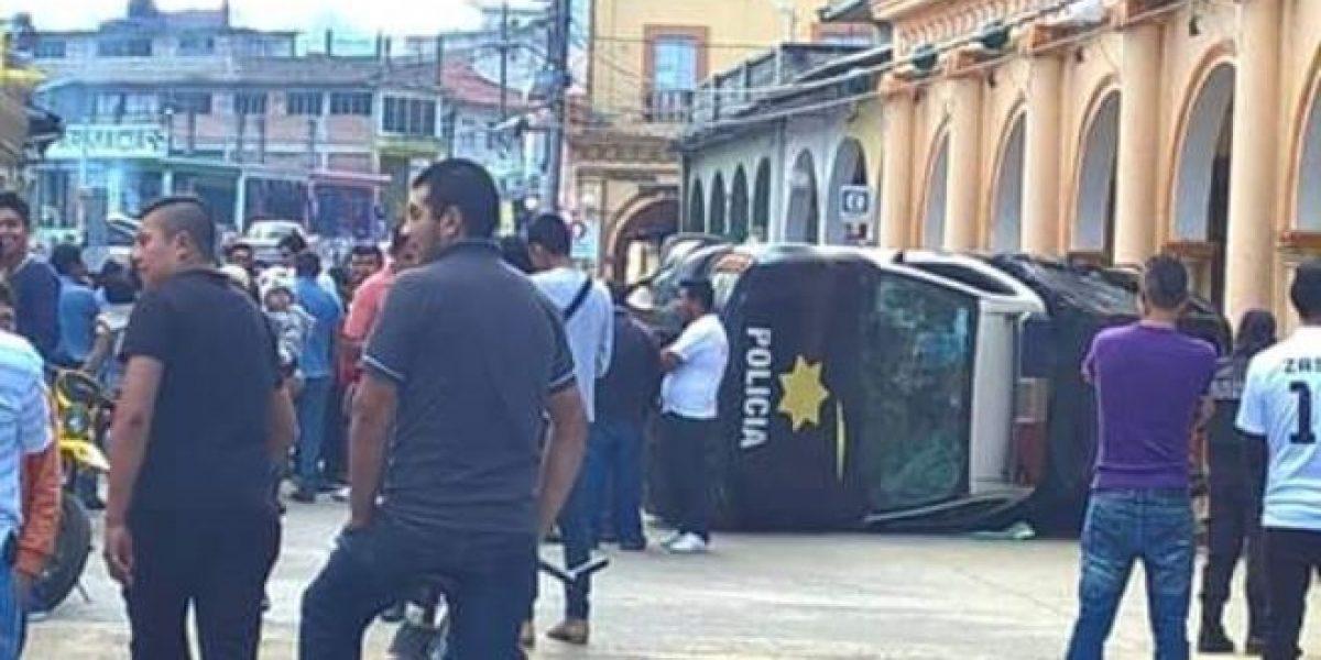 Manifestantes toman palacio municipal en Veracruz