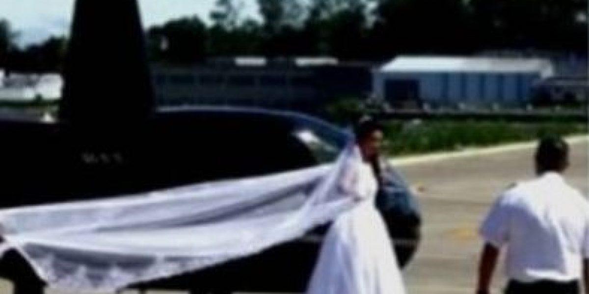 Muere novia al estrellarse helicóptero que la llevaba a su boda