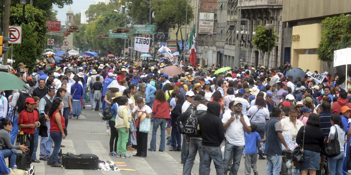 Marchas complicarán circulación vial en la CDMX