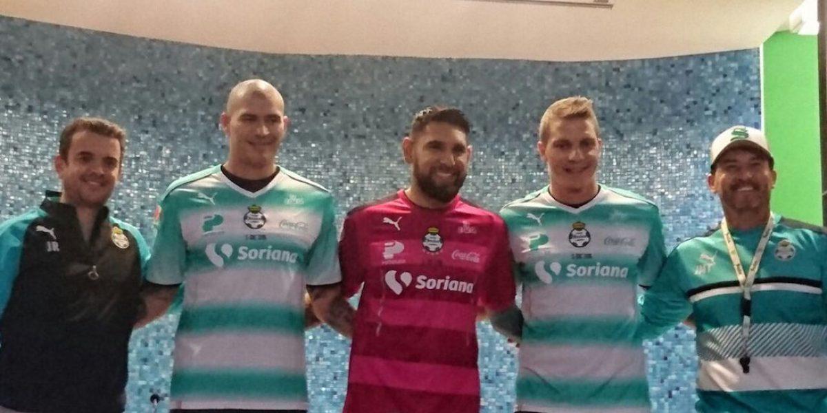 Santos presenta a tres de sus nuevos refuerzos para el Clausura 2017