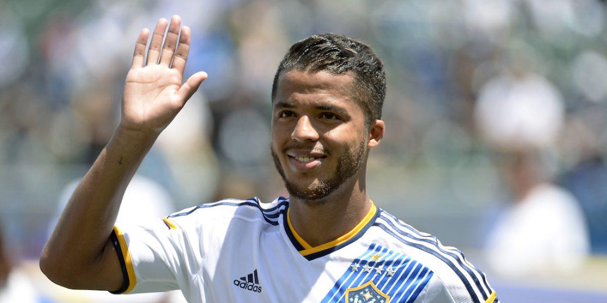 Giovani dos Santos aparece en el once ideal de la MLS