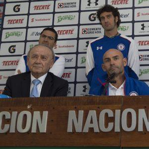 Paco Jémez fue presentado como nuevo técnico de Cruz Azul