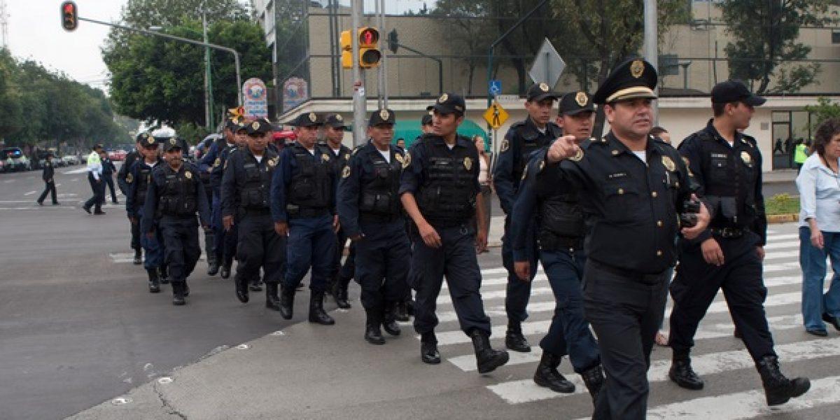 Más de 20 mil policías vigilarán la CDMX durante temporada navideña