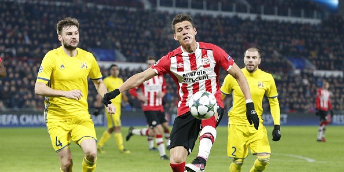 El PSV de Moreno y Guardado se queda sin competiciones europeas