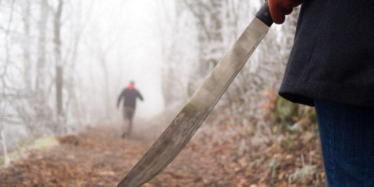 Pobladores de Veracruz cortan con machete manos de supuesto ladrón
