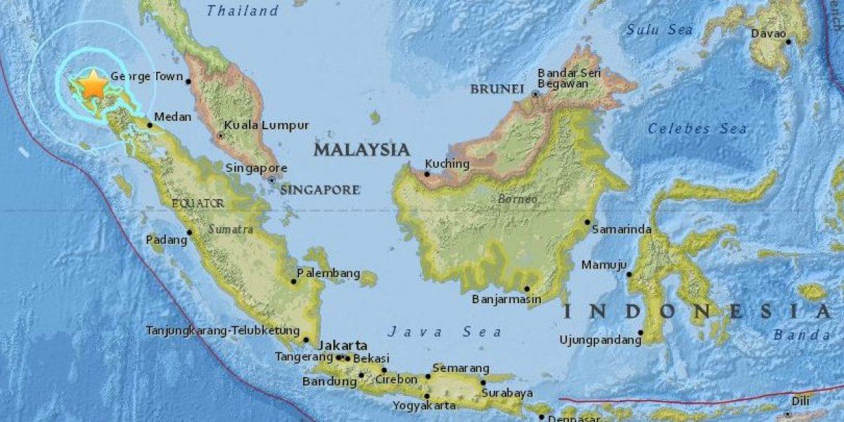 Sismo de 6.4 sacude Indonesia; no hay alerta de tsunami
