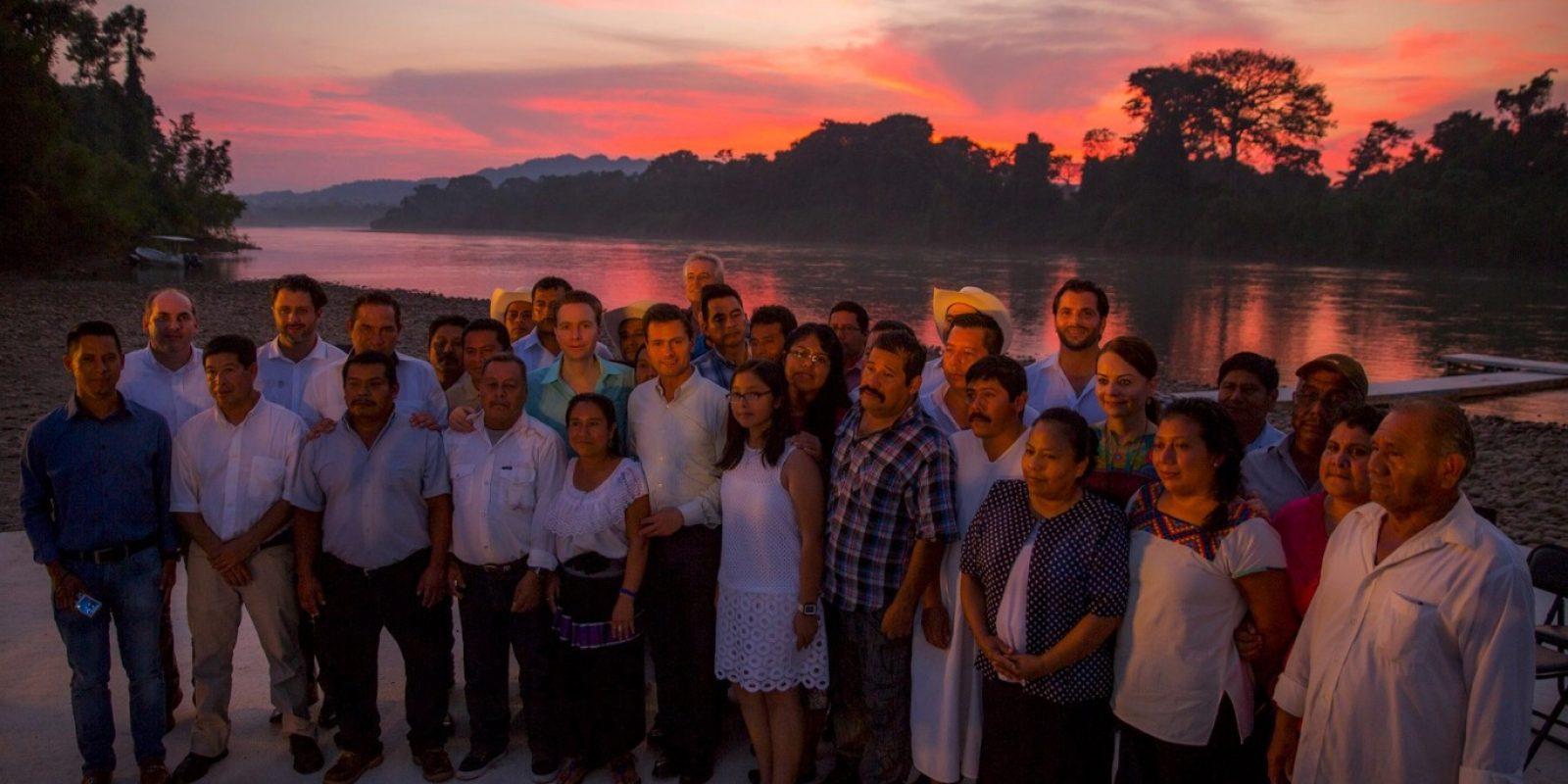 Peña Nieto instruye realizar acciones a favor de la Selva Lacandona. Imagen Por: Vía twitter.com/presidenciamx