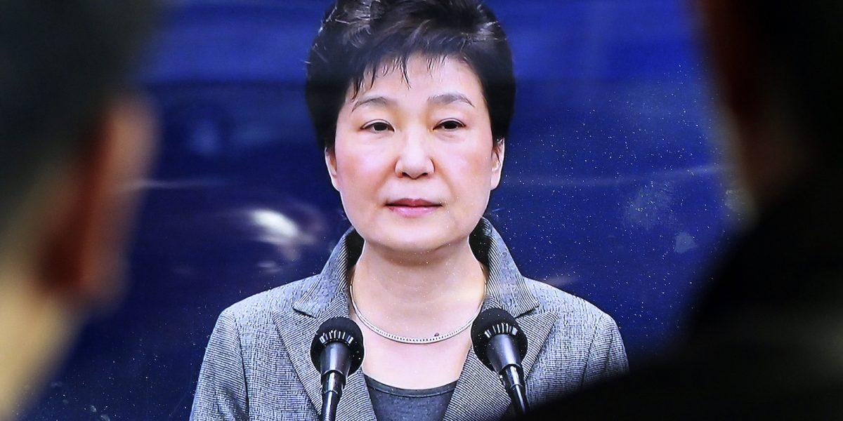 Presidenta de Corea del Sur acepta renunciar al cargo