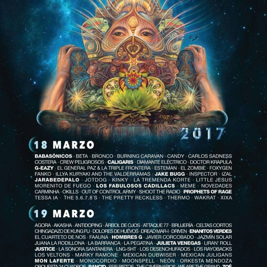 Cartel de Vive Latino por día
