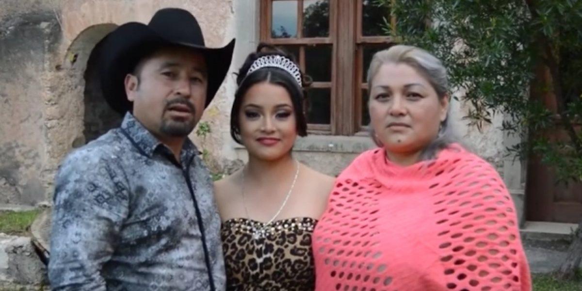 Regalan vestido de 20 mil pesos a mamá de Rubí para fiesta de XV años