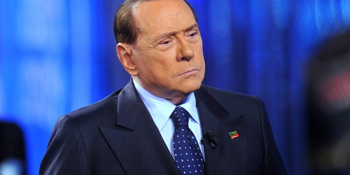 Hospitalizan a Berlusconi por trastorno cardíaco
