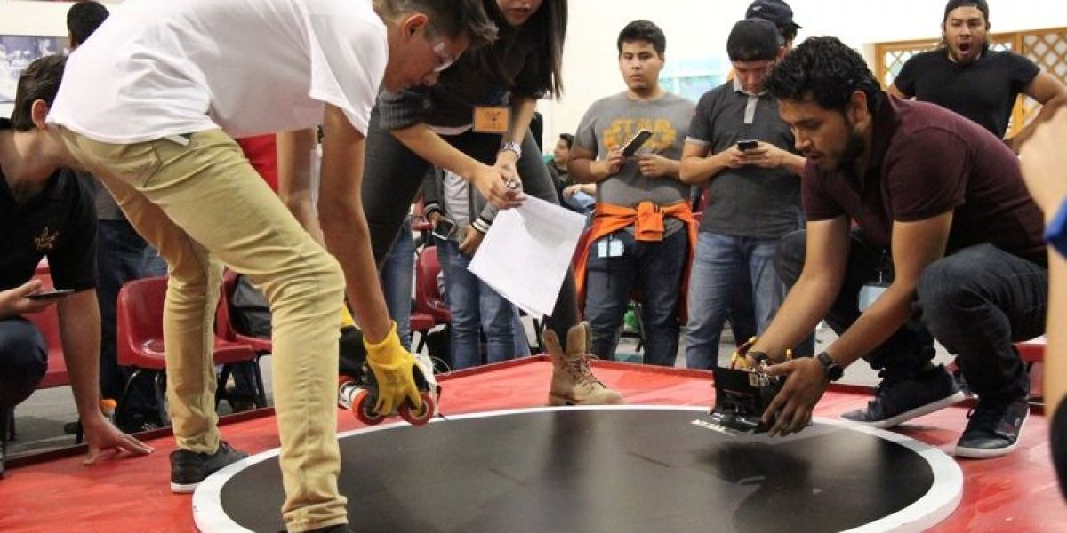 Estudiantes mexicanos listos para el International Robot Sumo Tournament 2016