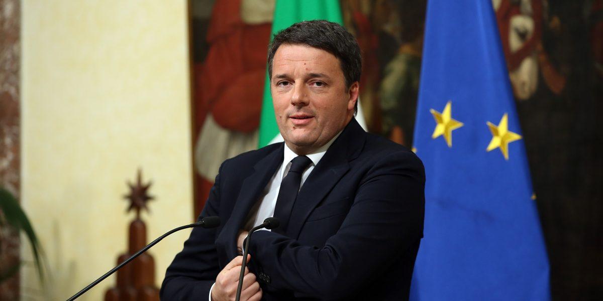 Mateo Renzi formalizará hoy su renuncia al frente del gobierno italiano