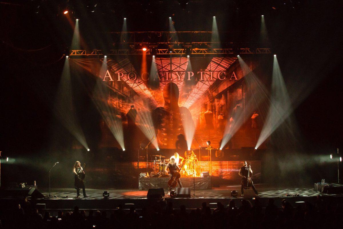 Apocalyptica en México. Imagen Por: Así se vivió el show de Apocalyptica en Monterrey   Cortesía