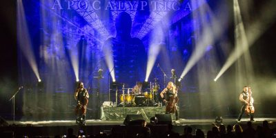 Apocalyptica en México. Imagen Por: Así se vivió el show de Apocalyptica en Monterrey | Cortesía