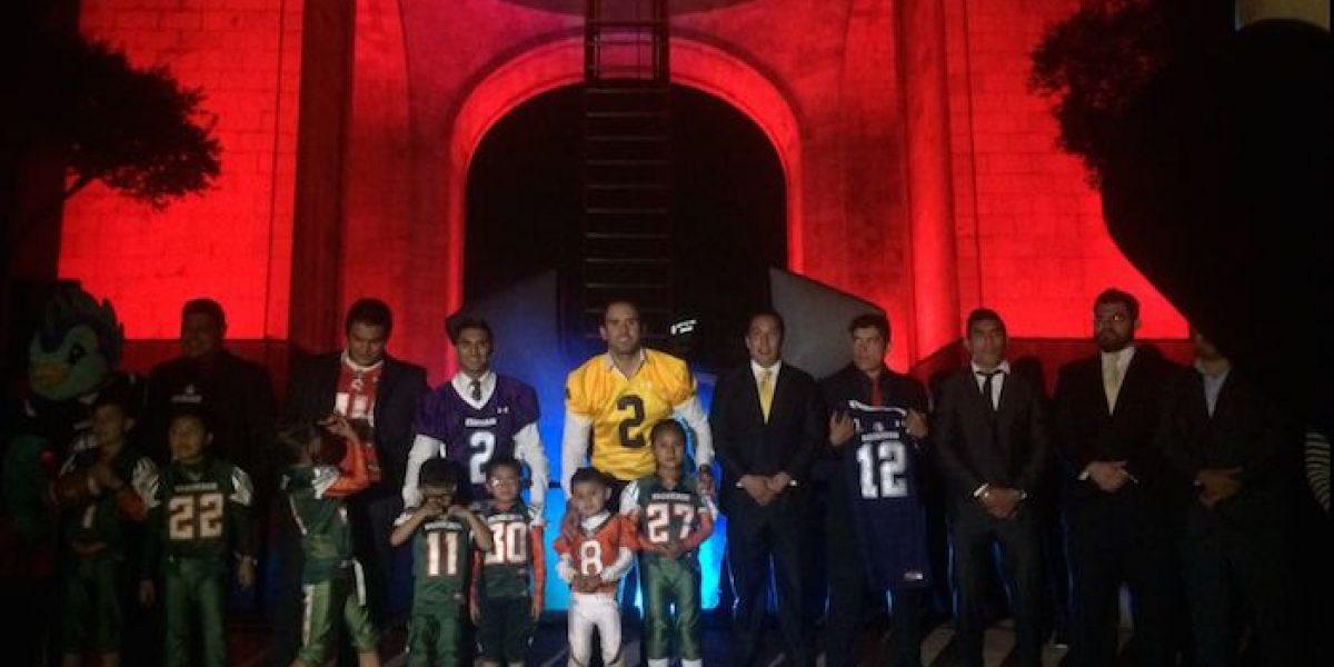 Presentan segunda temporada de la LFA México