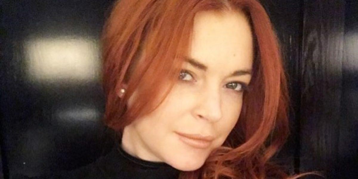 Lindsay Lohan comparte foto completamente desnuda