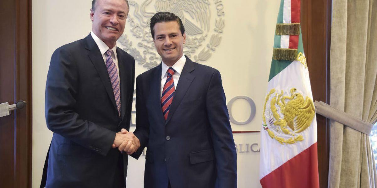 Peña Nieto se reúnecon gobernador electo de Sinaloa