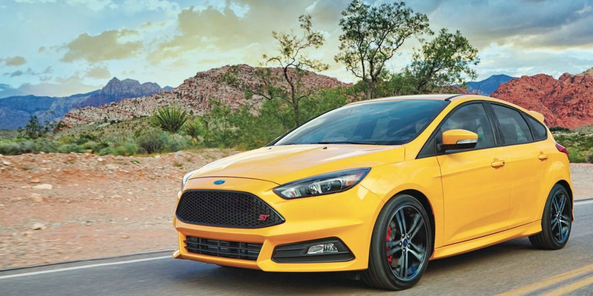 Ford Focus ST 2017, adrenalina asegurada