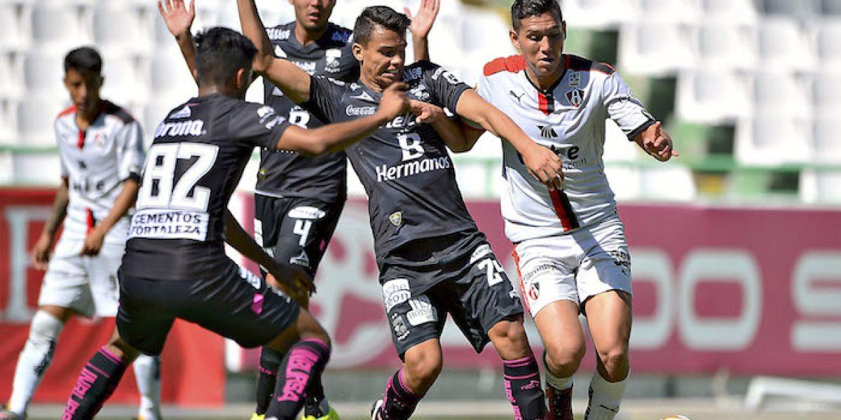 Chivas sub 17 y Atlas sub 20 definirán el título en la vuelta
