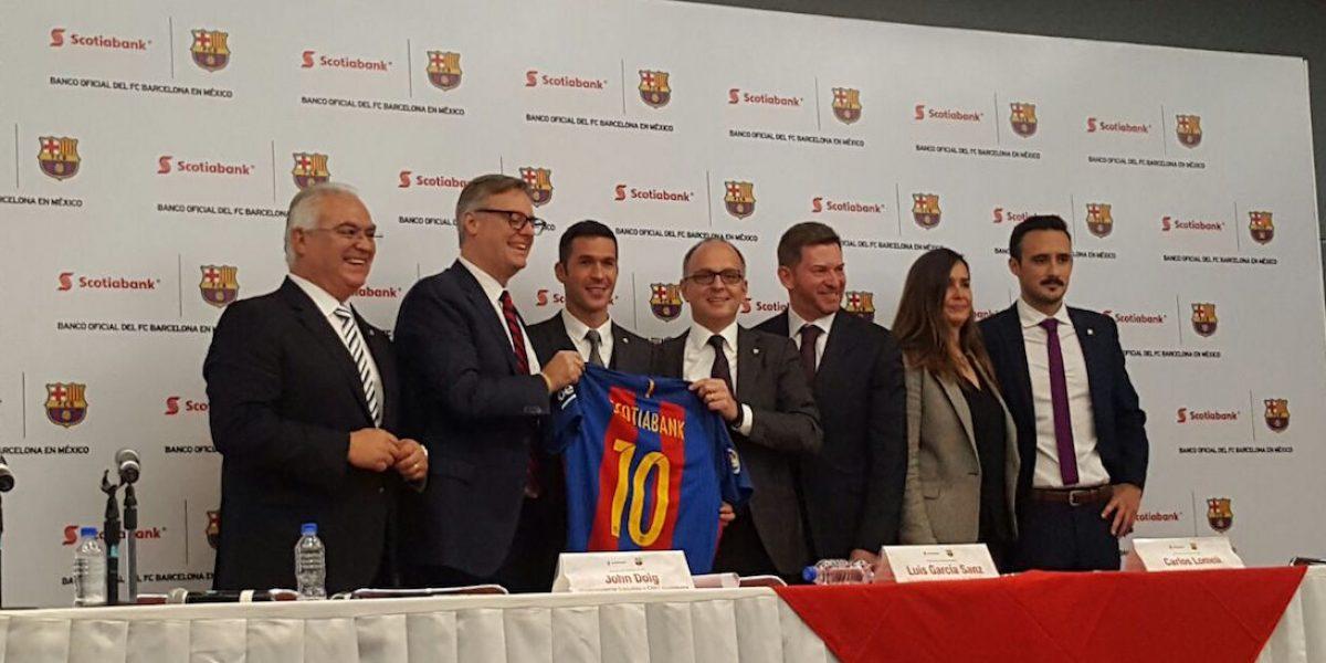 Barcelona anuncia acuerdo en México con Latinoamérica