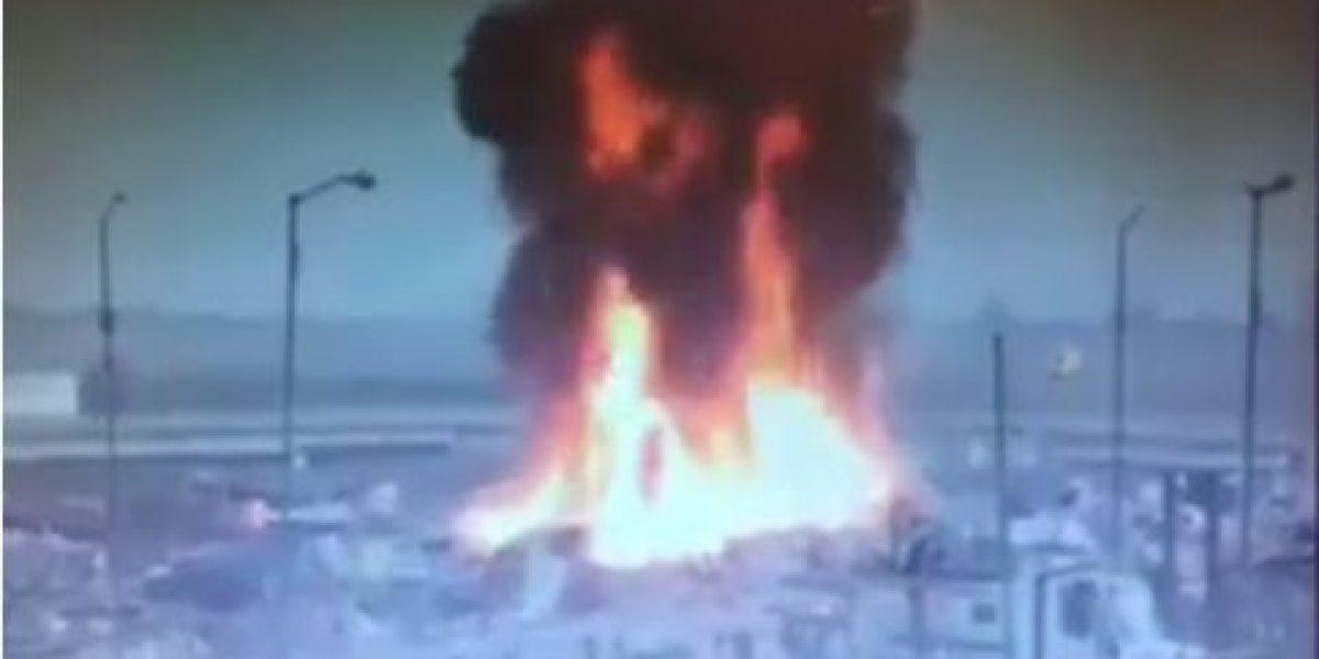 Se registra incendio en el tiradero del Bordo de Xochiaca