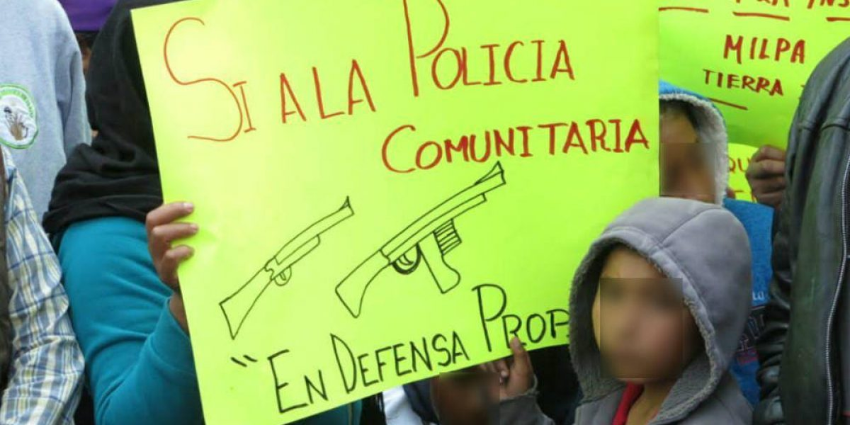 Amagan con crear policía comunitaria en Milpa Alta