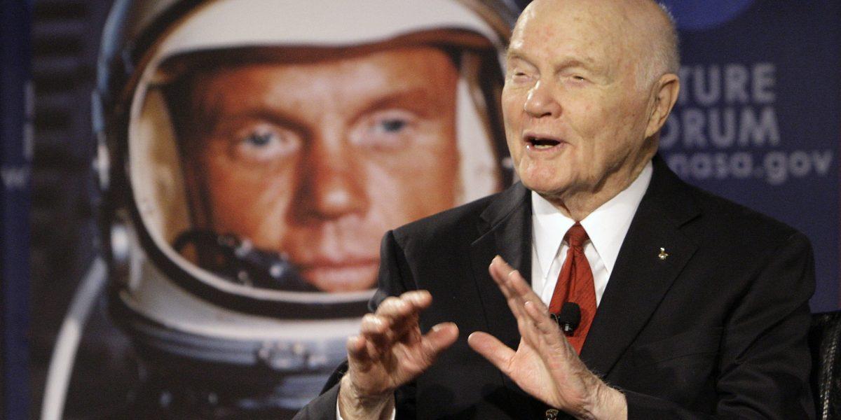 Muere John Glenn: primer estadounidense en orbitar alrededor de la Tierra