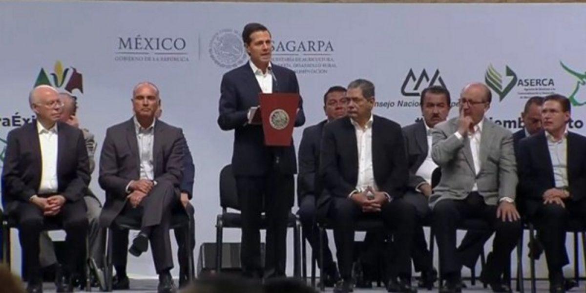 Peña Nieto inaugura la Expo México Alimentaria 2016