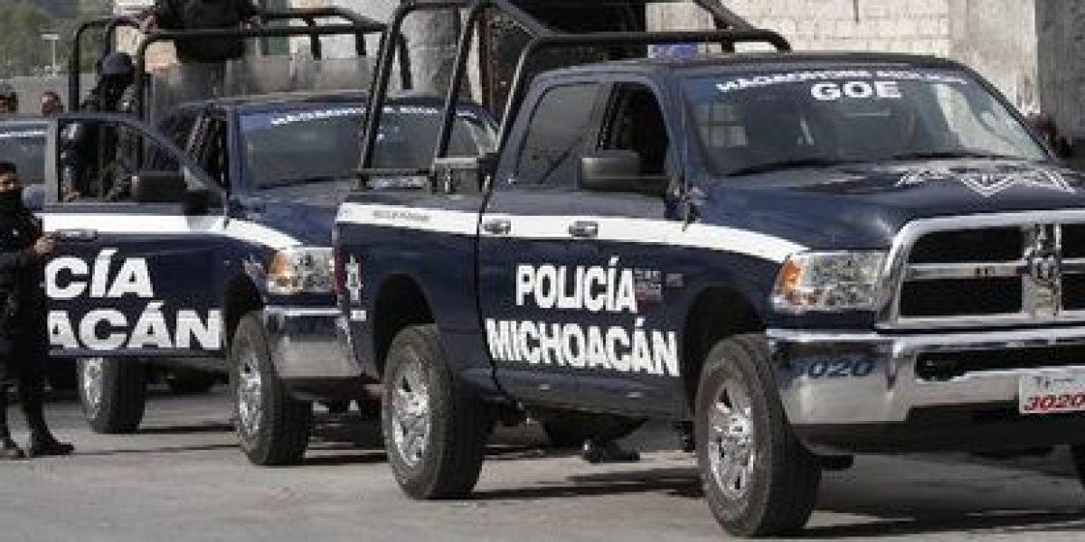 Chocan policías y maestros de la CNTE en Michoacán; hay siete detenidos