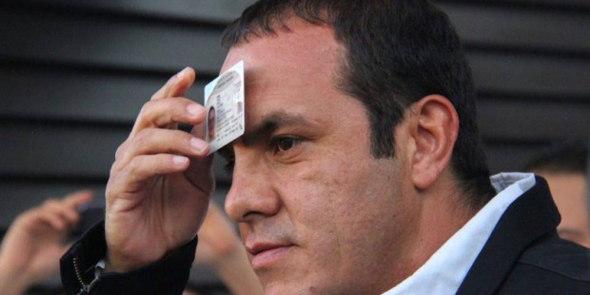 Juez avala amparo de Cuauhtémoc Blanco contra revocación de mandato