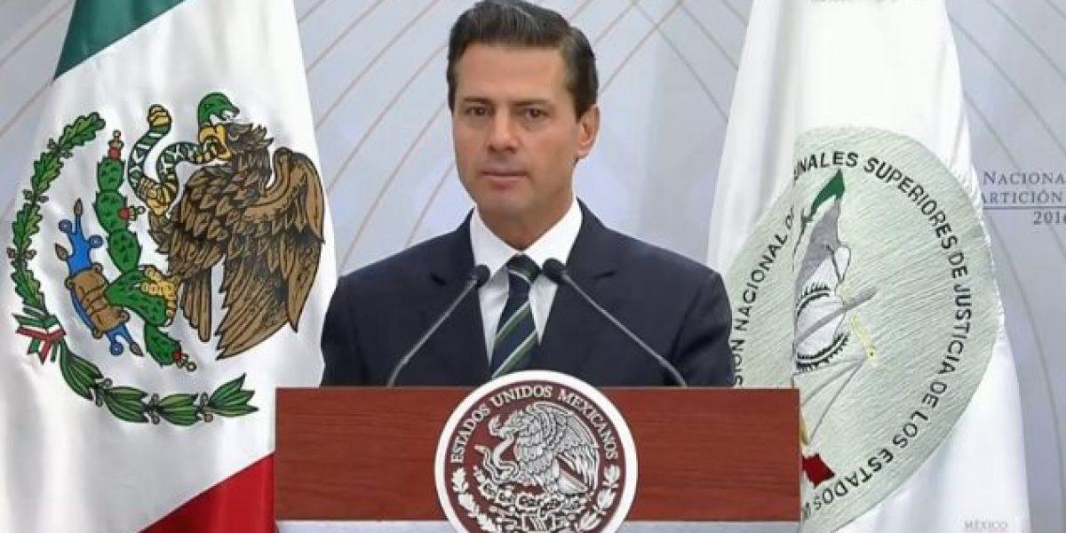 Fuerzas Armadas, para preservar soberanía y no para tareas de policías: Peña Nieto