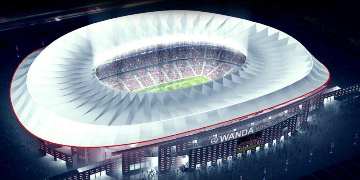 Atlético de Madrid cambirá de estadio y escudo para la próxima temporada