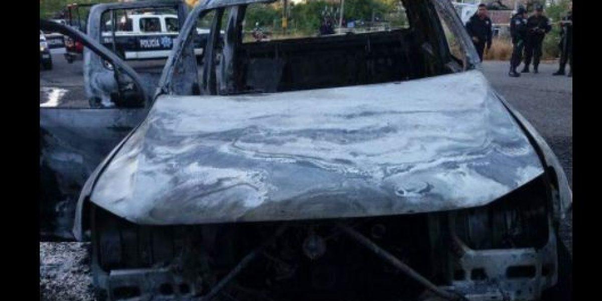 Hallan calcinados a cuatro agentes de la PGR en Zihuatanejo, Guerrero