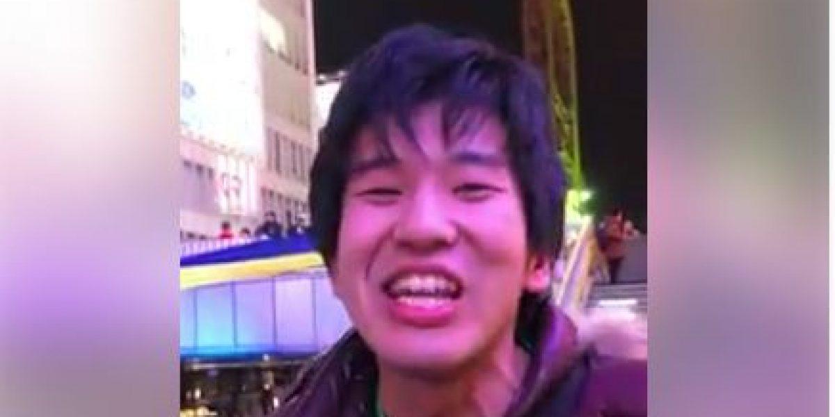 VIDEO: Con mentada de madre aficionado japonés envía mensaje a Chivas