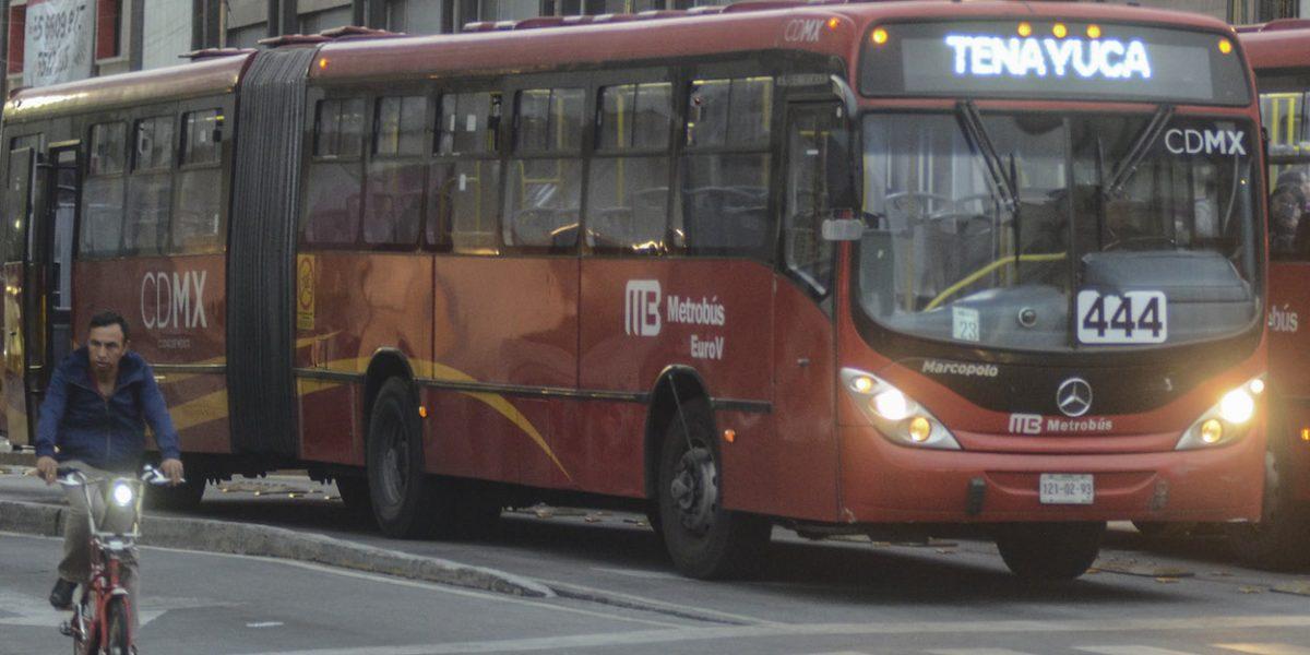 Metrobús amplía horario de servicio para apoyar a los Reyes Magos