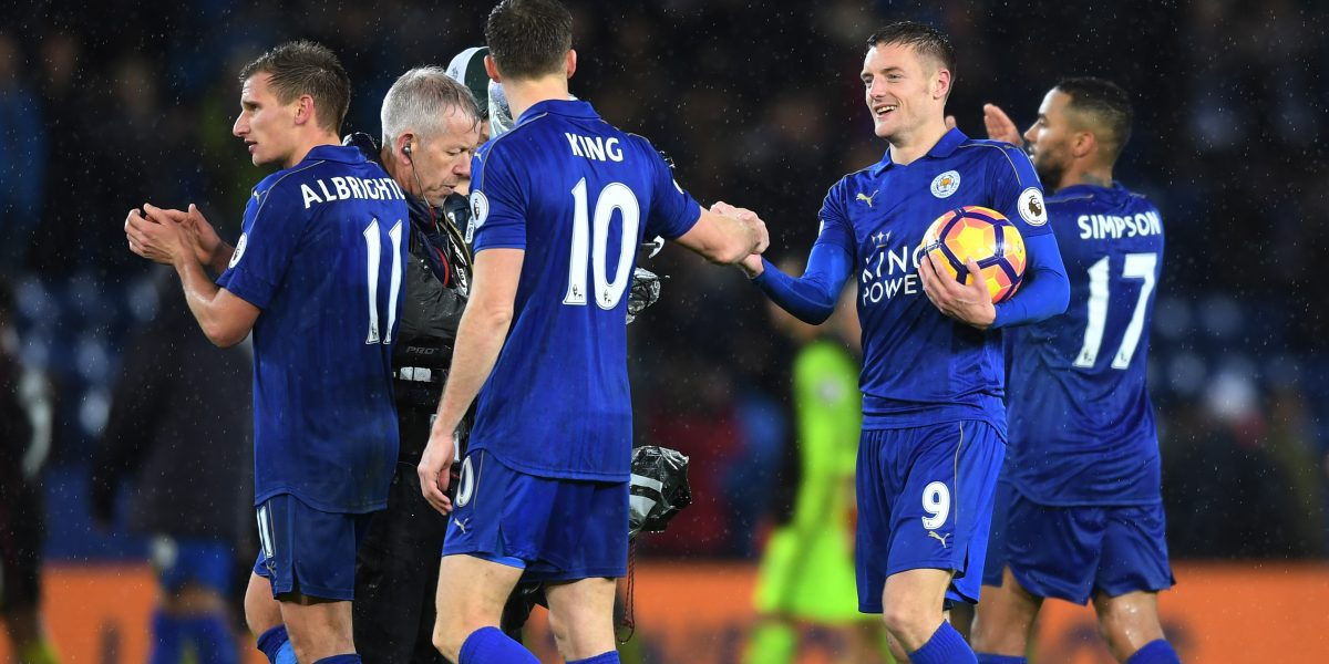 Leicester humilla al Manchester City de Guardiola