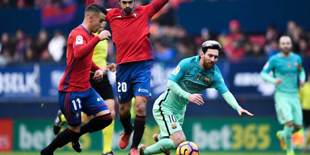 VIDEO: Tremendo fair play de Lionel Messi en el juego Osasuna-Barcelona